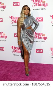"""LOS ANGELES - MAY 2:  Ashanti at the """"Dear Mama: A Love Letter to Mom"""" VH1 Special at The Theatre at Ace Hotel on May 2, 2019 in Los Angeles, CA"""