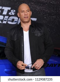 """LOS ANGELES - MAY 21:  Vin Diesel arrives to the """"Fast & Furious 6"""" US Premiere  on May 21, 2013 in Hollywood, CA"""