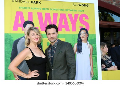 "LOS ANGELES - MAY 22:  Alexandra Henrikson, Brett Dalton at the ""Always Be My Maybe"" Premiere at the Village Theater on May 22, 2019 in Westwood, CA"