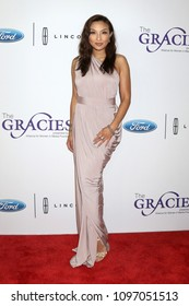 LOS ANGELES - MAY 22:  Jeannie Mai at the Gracies at the Beverly Wilshire Hotel on May 22, 2018 in Beverly Hills, CA