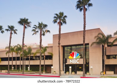 LOS ANGELES - MAY 22:  NBC Television Production Center on May 22, 2011 located in Burbank, California. The iconic network remains a major force in the entertainment industry of Southern California.