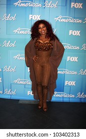 """LOS ANGELES - MAY 23:  Chaka Kahn in the Press Room of the """"American Idol 2012"""" Finale at Nokia Theater on May 23, 2012 in Los Angeles, CA"""