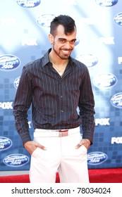 LOS ANGELES - MAY 25: Sanjaya Malakar at the American Idol Finale at the Nokia Theater in Los Angeles, California on May 25, 2011.