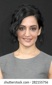 """LOS ANGELES - MAY 26:  Archie Panjabi at the """"San Andreas"""" World Premiere at the TCL Chinese Theater IMAX on May 26, 2015 in Los Angeles, CA"""
