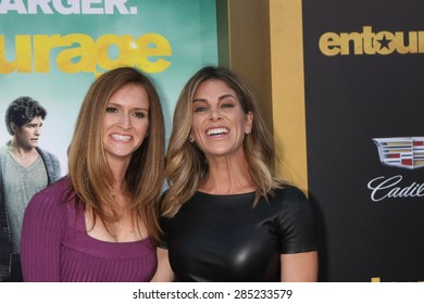 """LOS ANGELES - MAY 27:  Jillian Michaels at the """"Entourage"""" Movie Premiere at the Village Theater on May 27, 2015 in Westwood, CA"""