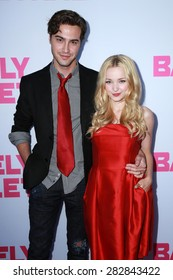 """LOS ANGELES - MAY 27:  Ryan McCartan, Dove Cameron at the """"Barely Lethal"""" Los Angeles Screening at the ArcLight Hollywood Theaters on May 27, 2015 in Los Angeles, CA"""