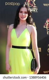 LOS ANGELES - MAY 3:  Cait Fairbanks at the 2019 Creative Daytime Emmy Awards at Pasadena Convention Center on May 3, 2019 in Pasadena, CA
