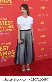 LOS ANGELES - MAY 30:  Keri Russell arrives to the 'The Americans' FYC Red Carpet  on May 30, 2018 in Hollywood, CA
