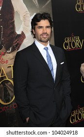 """LOS ANGELES - MAY 31:  Eduardo Verastegui arriving at the """"For Greater Glory"""" Premiere at AMPAS Theater on May 31, 2012 in Beverly Hills, CA"""