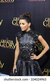 """LOS ANGELES - MAY 31:  Eva Longoria arriving at the """"For Greater Glory"""" Premiere at AMPAS Theater on May 31, 2012 in Beverly Hills, CA"""