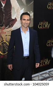 """LOS ANGELES - MAY 31:  Nestor Carbonell arriving at the """"For Greater Glory"""" Premiere at AMPAS Theater on May 31, 2012 in Beverly Hills, CA"""
