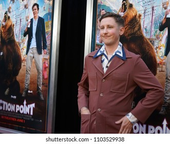 LOS ANGELES, MAY 31ST, 2018: Johnny Pemberton at the premiere of Action Point held at the Arclight Theatre on Thursday, May 31st, 2018.