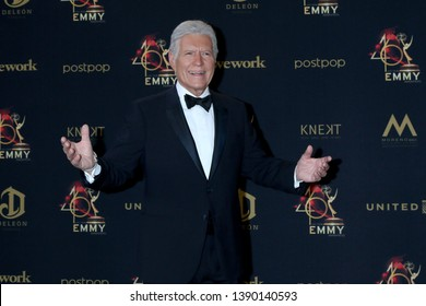 LOS ANGELES - MAY 5:  Alex Trebek at the 2019  Daytime Emmy Awards at Pasadena Convention Center on May 5, 2019 in Pasadena, CA