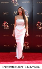 LOS ANGELES - MAY 5:  Jeannie Mai at the 2019  Daytime Emmy Awards at Pasadena Convention Center on May 5, 2019 in Pasadena, CA