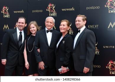 LOS ANGELES - MAY 5:  Judge Judy Sheindlin, family at the 2019  Daytime Emmy Awards at Pasadena Convention Center on May 5, 2019 in Pasadena, CA