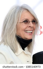 """LOS ANGELES - MAY 6:  Diane Keaton at the """"Book Club"""" LA Premiere at Village Theater on May 6, 2018 in Westwood, CA"""