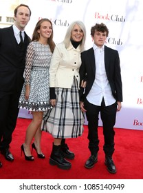 """LOS ANGELES - MAY 6:  Guest, Dexter Keaton, Diane Keaton, Duke Keaton at the """"Book Club"""" LA Premiere at Village Theater on May 6, 2018 in Westwood, CA"""