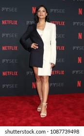 LOS ANGELES - MAY 6:  Shakira Barrera at the Netflix FYSEE Kick-Off Event at Raleigh Studios on May 6, 2018 in Los Angeles, CA