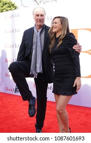 LOS ANGELES, May 6th, 2018: Actor Craig T. Nelson having fun on the red carpet with actress Alicia Silverstone at the premiere of the movie Book Club, held at the Westwood Village Theatre in Westwood.