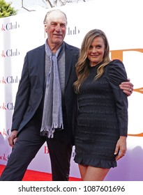 LOS ANGELES, May 6th, 2018: Actor Craig T. Nelson with actress Alicia Silverstone at the premiere of the movie Book Club, held at the Westwood Village Theatre in Westwood.