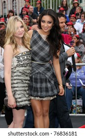 """LOS ANGELES - MAY 7:  Ashley Benson, Shay Mitchell arriving at the """"Pirates of The Caribbean: On Stranger Tides"""" World Premiere at Disneyland on May 7, 2011 in Anaheim, CA"""