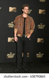 LOS ANGELES - MAY 7:  Brandon Flynn at the MTV Movie and Television Awards on the Shrine Auditorium on May 7, 2017 in Los Angeles, CA