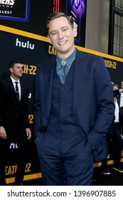 "LOS ANGELES - MAY 7:  Lewis Pullman at the ""Catch-22"" Premiere  at the TCL Chinese Theater IMAX on May 7, 2019 in Los Angeles, CA"