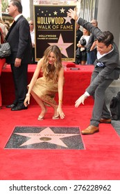 LOS ANGELES - MAY 7:  Sofia Vergara, Manolo Gonzalez-Ripoll Vergara at the Sofia Vergara Hollywood Walk of Fame Ceremony at the Hollywood Blvd on May 7, 2015 in Los Angeles, CA