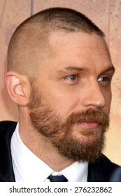 LOS ANGELES - MAY 7:  Tom Hardy at the Mad Max: Fury Road Los Angeles Premiere at the TCL Chinese Theater IMAX on May 7, 2015 in Los Angeles, CA