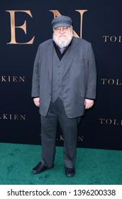 "LOS ANGELES - MAY 8:  George R. R. Martin at the ""Tolkien"" LA Special Screening at the Village Theater on May 8, 2019 in Westwood, CA"