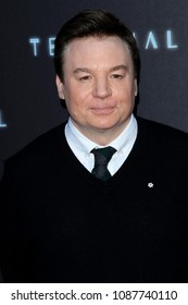 "LOS ANGELES - MAY 8:  Mike Myers at the ""Terminal"" Premiere at the ArcLight Theater on May 8, 2018 in Los Angeles, CA"