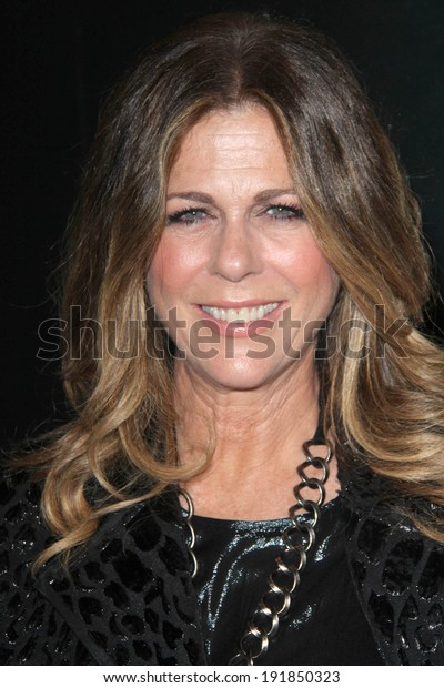 """LOS ANGELES - MAY 8:  Rita Wilson at the """"Fed Up"""" Premiere at Pacific Design Center on May 8, 2014 in West Hollywood, CA"""