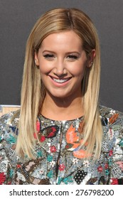 """LOS ANGELES - MAY 9:  Ashley Tisdale at the """"Tomorrowland"""" Premiere at the AMC Downtown Disney on May 9, 2015 in Lake Buena Vista, CA"""