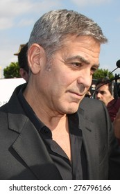 """LOS ANGELES - MAY 9:  George Clooney at the """"Tomorrowland"""" Premiere at the AMC Downtown Disney on May 9, 2015 in Lake Buena Vista, CA"""