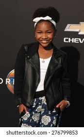 "LOS ANGELES - MAY 9:  Lala DeLeon Hayes at the ""Tomorrowland"" Premiere at the AMC Downtown Disney on May 9, 2015 in Lake Buena Vista, CA"