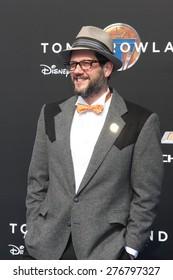 "LOS ANGELES - MAY 9:  Michael Giacchino at the ""Tomorrowland"" Premiere at the AMC Downtown Disney on May 9, 2015 in Lake Buena Vista, CA"