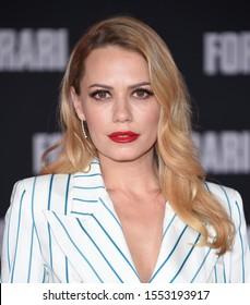 LOS ANGELES - NOV 04:  Bethany Joy Lenz arrives for the ÔFord v FerrariÕ Screening on November 04, 2019 in Hollywood, CA