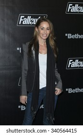 LOS ANGELES - NOV 05:  Melanie Marden at the Fallout 4 video game launch  at the downtown on November 05, 2015 in Los Angeles, CA