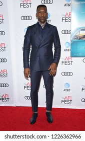 "LOS ANGELES - NOV 09:  Mahershala Ali arrives to the ""Green Book"" AFI Screening  on November 9, 2018 in Hollywood, CA"