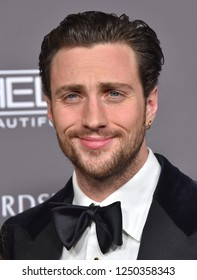 LOS ANGELES - NOV 10:  Aaron Taylor-Johnson arrives to the Baby2Baby Gala  on November 10, 2018 in Hollywood, CA