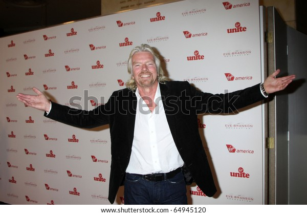 LOS ANGELES - NOV 10:  Sir Richard Branson arrives at the Rock the Kabash Gala 2010 at Dorothy Chandler Pavilion  on November 10, 2010 in Los Angeles, CA