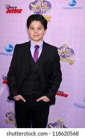 """LOS ANGELES - NOV 10:  Zach Callison arrives at the """"Sofia The First: Once Upon a Princess"""" Premiere And Story Book Launch at Walt Disney Studios on November 10, 2012 in Burbank, CA"""