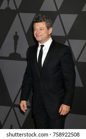 LOS ANGELES - NOV 11:  Andy Serkis at the AMPAS 9th Annual Governors Awards at Dolby Ballroom on November 11, 2017 in Los Angeles, CA