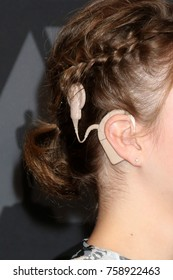 LOS ANGELES - NOV 11:  Cochlear implant at the AMPAS 9th Annual Governors Awards at Dolby Ballroom on November 11, 2017 in Los Angeles, CA