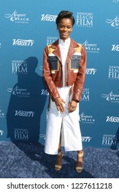 LOS ANGELES - NOV 11:  Letitia Wright at the 10 Actors to Watch & Newport Beach Film Festival Fall Honors at the Resort at Pelican Hill on November 11, 2018 in Newport Coast, CA