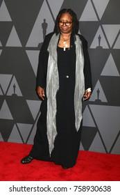 LOS ANGELES - NOV 11:  Whoopi Goldberg at the AMPAS 9th Annual Governors Awards at Dolby Ballroom on November 11, 2017 in Los Angeles, CA