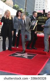 LOS ANGELES - NOV 12:  Chris Hardwick, Chris Columbus, Daniel Radcliffe, Leron Gubler  at the Daniel Radcliffe Ceremony at the Hollywood Walk of Fame on November 12, 2015 in Los Angeles, CA
