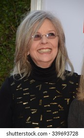 """LOS ANGELES - NOV 12:  Diane Keaton at the """"Love the Coopers"""" Los Angeles Premiere at the The Grove on November 12, 2015 in Los Angeles, CA"""