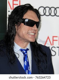 "LOS ANGELES - NOV 12:  Tommy Wiseau at the AFI FEST 2017 ""The Disaster Artist"" Screening at the TCL Chinese Theater IMAX on November 12, 2017 in Los Angeles, CA"