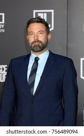 LOS ANGELES - NOV 13:  Ben Affleck at the World Premiere of Justice League at Dolby Theater on November 13, 2017 in Los Angeles, CA